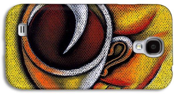 Coffee Cup  Galaxy S4 Case by Leon Zernitsky