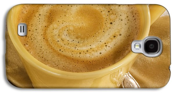 Coffee In Yellow Galaxy S4 Case by Iris Richardson
