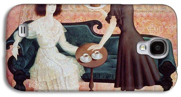 Coffee Morning Galaxy S4 Case by Patricia O'Brien