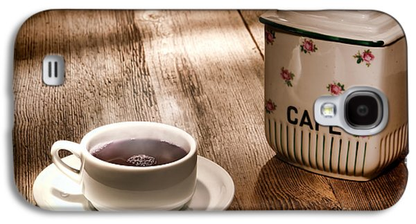 Coffee Galaxy S4 Case by Olivier Le Queinec