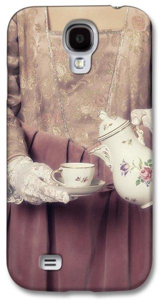 Coffee Time Galaxy S4 Case by Joana Kruse