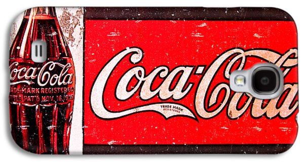 Coke Galaxy S4 Case by Reid Callaway