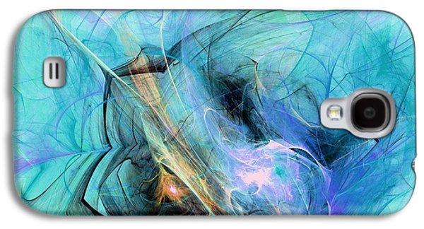 Flow Galaxy S4 Cases - Cold Galaxy S4 Case by Anastasiya Malakhova
