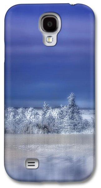 Cold Winter Day Galaxy S4 Case by Ellen Heaverlo