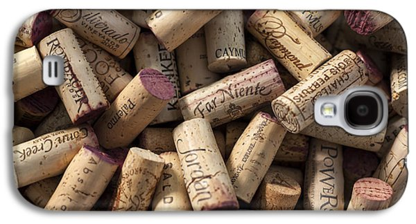 Collection Of Fine Wine Corks Galaxy S4 Case by Adam Romanowicz