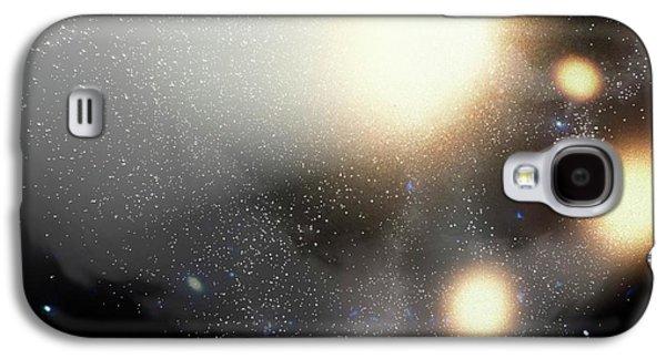 Colliding Galaxies Galaxy S4 Case