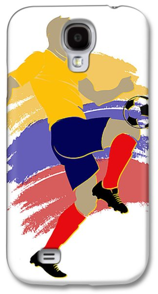 Colombia Soccer Player Galaxy S4 Case