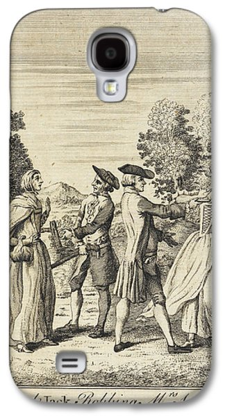 Colonel Jack Robbing Mrs Smith Galaxy S4 Case by British Library