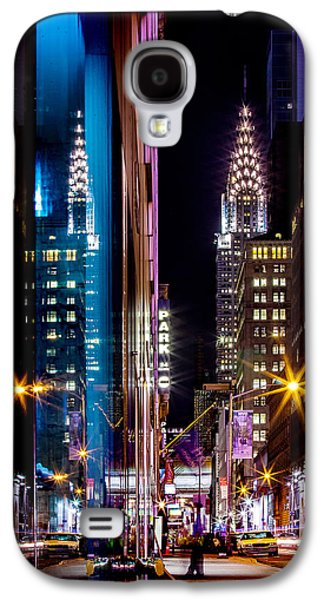 Color Of Manhattan Galaxy S4 Case