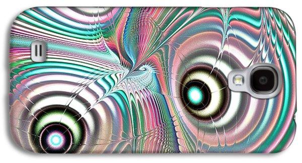 Color Waves Galaxy S4 Case