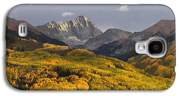 Colorado 14er Capitol Peak Galaxy S4 Case by Aaron Spong