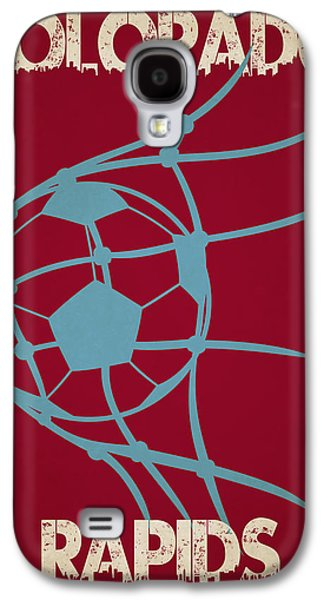 Colorado Rapids Goal Galaxy S4 Case by Joe Hamilton