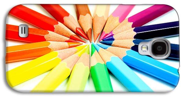 Colored Pencils Galaxy S4 Case