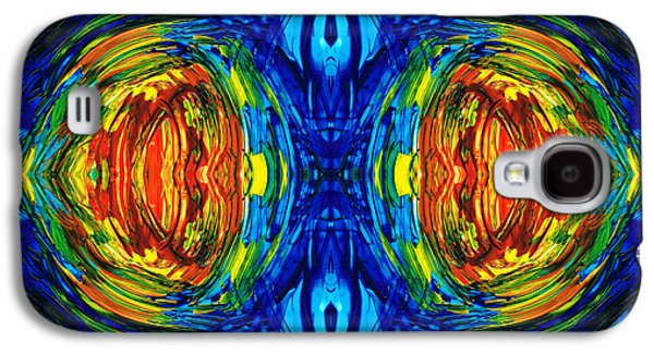 Colorful Abstract Art - Parallels - By Sharon Cummings  Galaxy S4 Case by Sharon Cummings