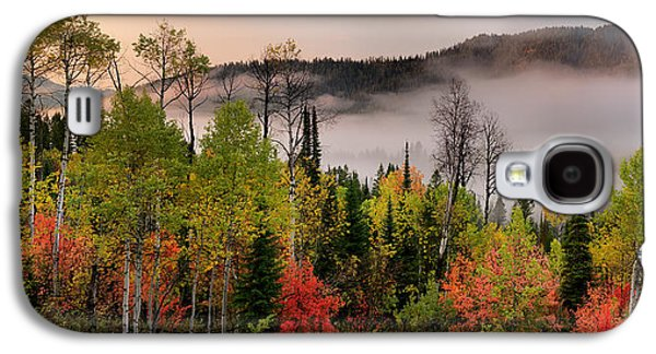Colorful Autumn Morning Galaxy S4 Case by Leland D Howard