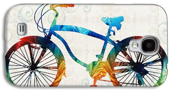 Colorful Bike Art - Free Spirit - By Sharon Cummings Galaxy S4 Case