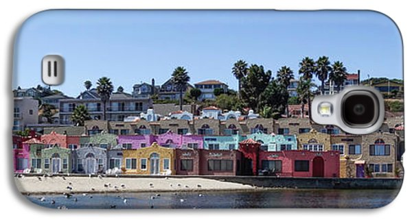 Colorful Buildings And Beach Galaxy S4 Case by Panoramic Images