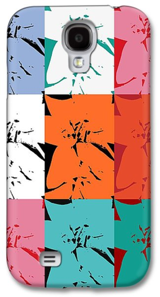 Colorful Flowers  Lily Galaxy S4 Case by Tommytechno Sweden