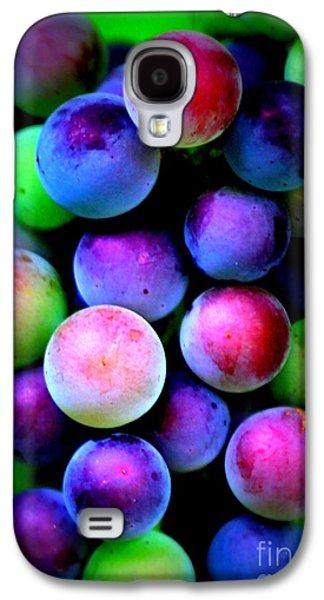 Colorful Grapes - Digital Art Galaxy S4 Case by Carol Groenen