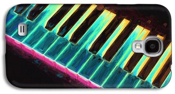 Colorful Keys Galaxy S4 Case by Bob Orsillo