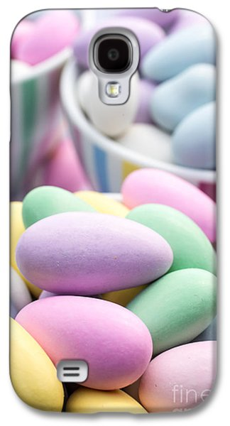 Colorful Pastel Jordan Almond Candy Galaxy S4 Case by Edward Fielding
