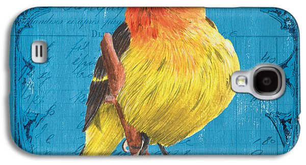 Colorful Songbirds 4 Galaxy S4 Case by Debbie DeWitt