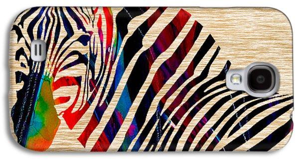 Colorful Zebra Galaxy S4 Case