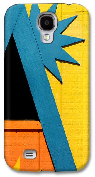 Colors And Shapes Galaxy S4 Case by Art Block Collections