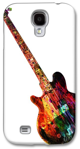 Colors Guitar  Galaxy S4 Case