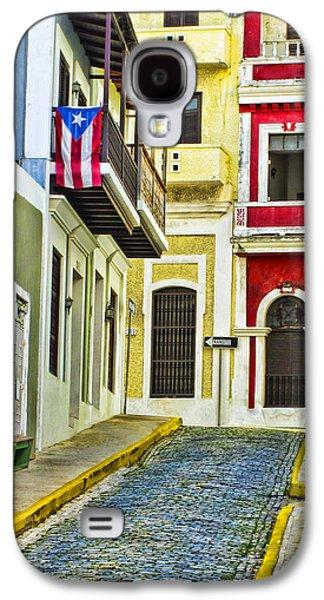 Colors Of Old San Juan Puerto Rico Galaxy S4 Case by Carter Jones