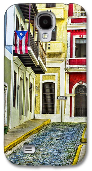 Colors Of Old San Juan Puerto Rico Galaxy S4 Case