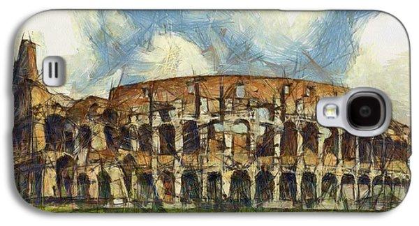 Colosseum Pencil Galaxy S4 Case