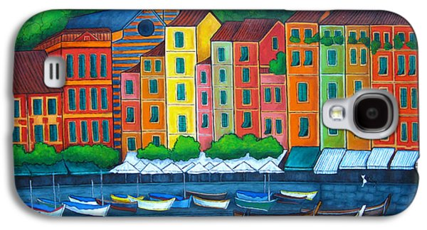 Colours Of Portofino Galaxy S4 Case by Lisa  Lorenz