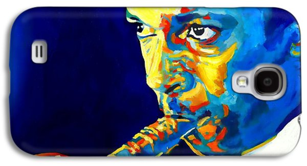 Coltrane-blu Galaxy S4 Case by Vel Verrept