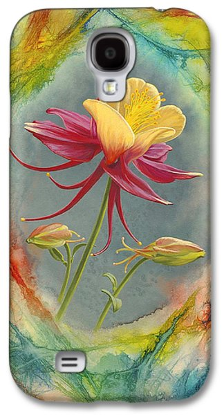 'columbine In Abstract' Galaxy S4 Case by Paul Krapf