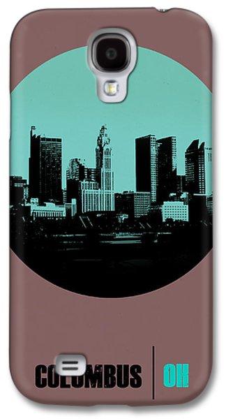 Columbus Circle Poster 2 Galaxy S4 Case