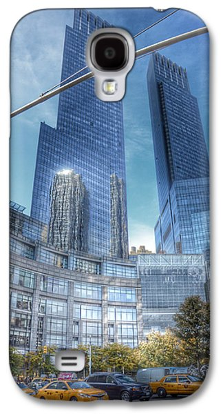 New York - Columbus Circle - Time Warner Center Galaxy S4 Case by Marianna Mills
