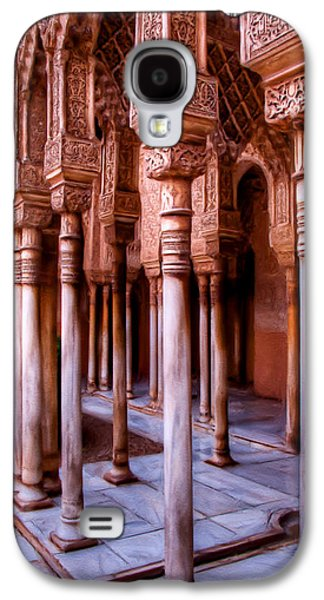 Columns Of The Court Of The Lions - Painting Galaxy S4 Case