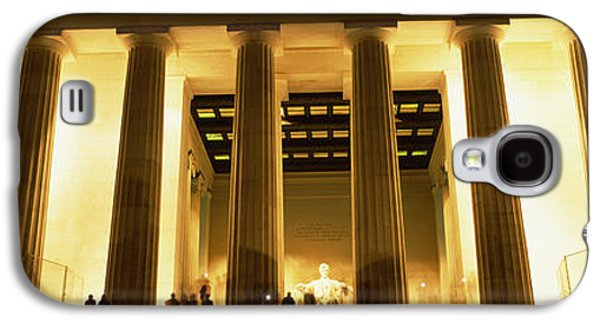 Columns Surrounding A Memorial, Lincoln Galaxy S4 Case by Panoramic Images