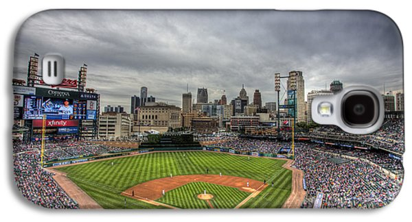 Comerica Park Home Of The Tigers Galaxy S4 Case by Shawn Everhart
