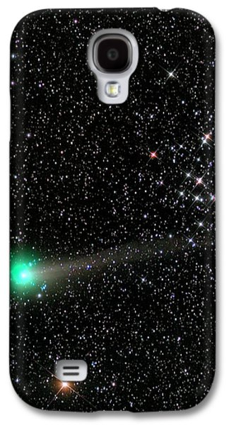 Comet C2013 R1 And Star Cluster M44 Galaxy S4 Case by Damian Peach