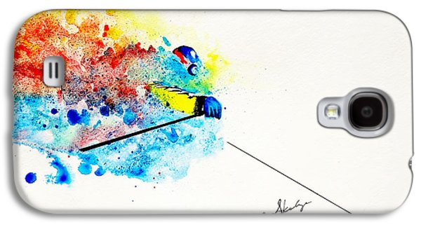 Coming Through Galaxy S4 Case by Angee Skoubye