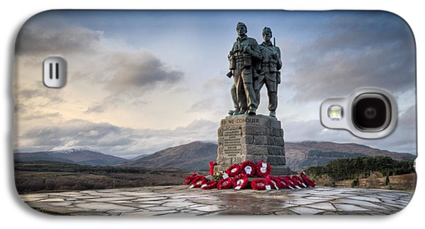 Commando Memorial At Spean Bridge Galaxy S4 Case