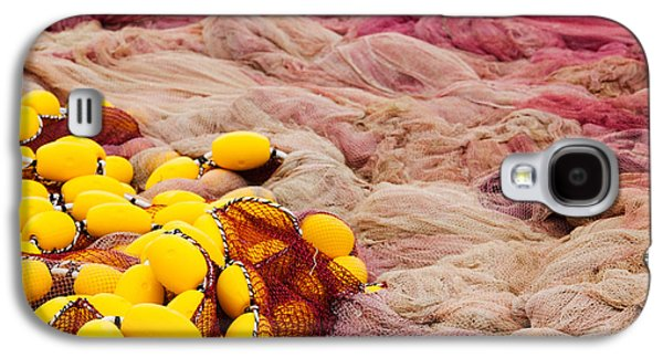 Commercial Fishing Nets With Floats Galaxy S4 Case