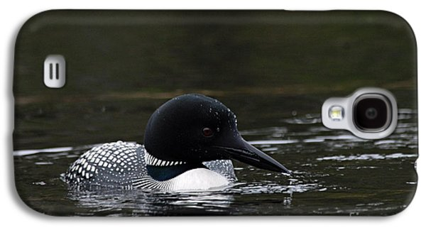 Common Loon 1 Galaxy S4 Case by Larry Ricker
