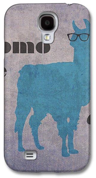Llama Galaxy S4 Case - Como Te Llamas Humor Pun Poster Art by Design Turnpike