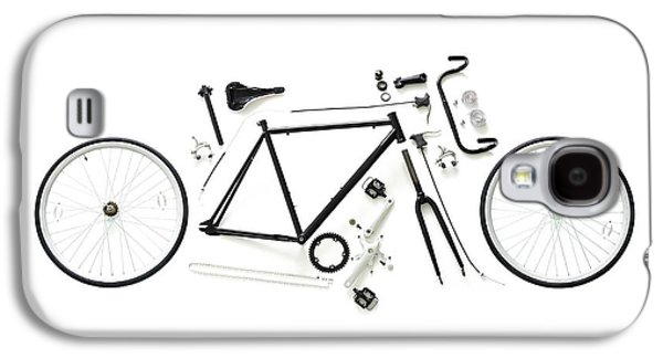 Components Of A Road Bike Galaxy S4 Case