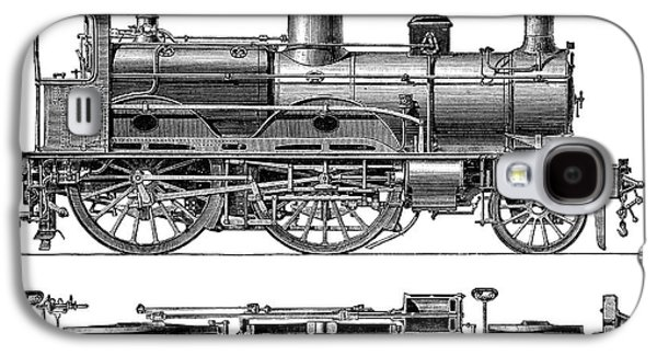 Compound Steam Locomotive Galaxy S4 Case by Science Photo Library