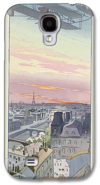 Comte Charles De Lambert Flying Galaxy S4 Case by Marguerite Montaut