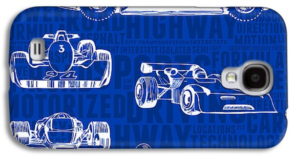 Concept-art Of Sports Cars Galaxy S4 Case